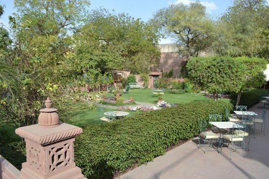 Ratan Vilas : Jardin