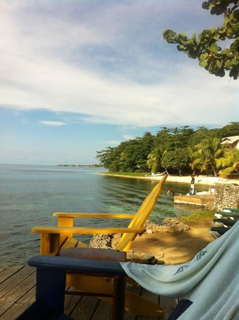 Las Rocas Resort & Dive Center: view from deck of hotel