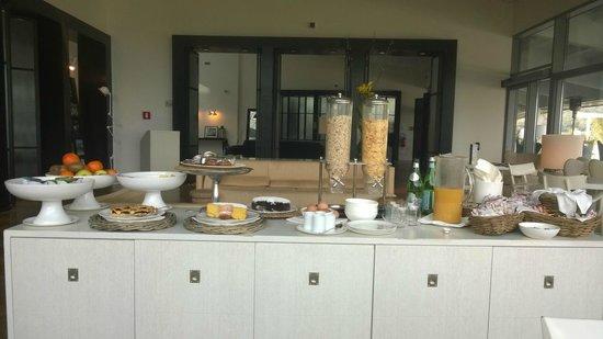 Argentario Golf Resort & Spa : das fünf sterne frühstück !!!