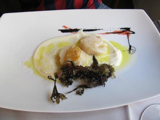 Restaurante A' Peregrina : Scallops