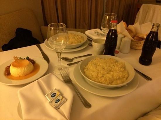 Sheraton Buenos Aires Hotel & Convention Center: jantar no quarto - caro mas de delicioso
