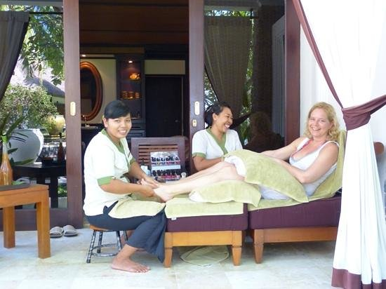 Spa Village Resort Tembok Bali: spa ladies