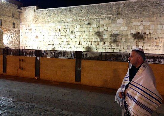 Mur des lamentations : Muro das Lamentações - Jerusalém