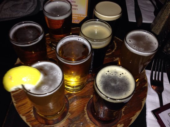 Heartland Brewery - Union Sq. : Beer sampler!