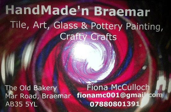 HandMade'n Braemar: Business Card