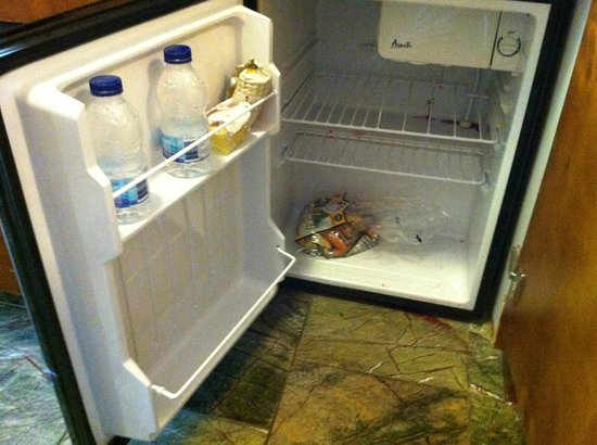Stowe Mountain Lodge: in room fridge, plenty big enough