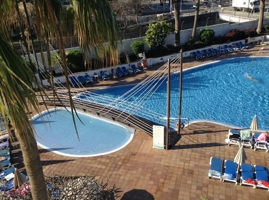Hotel Troya: balcony view