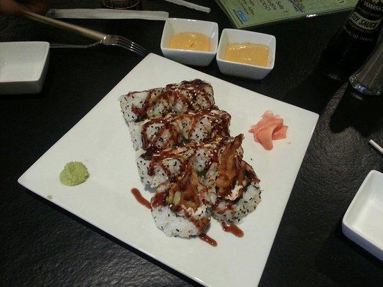 Han the Sushi Man : Shrimp tempura