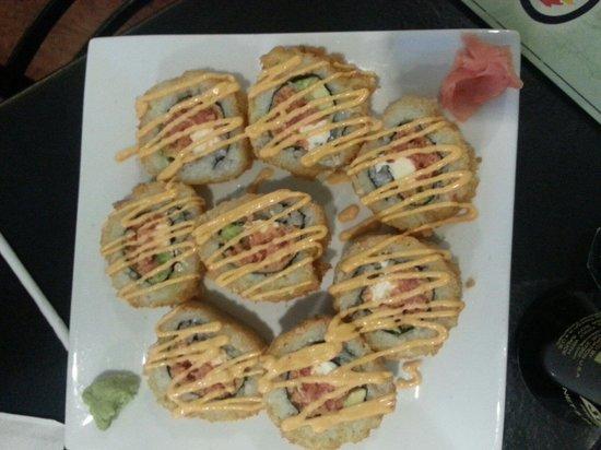 Han the Sushi Man : Sushi donut