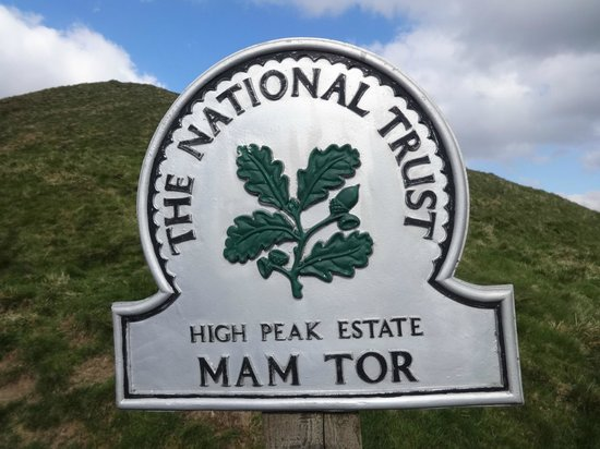 Ridge Walk Mam Tor to Losehill: Sign