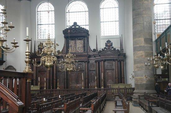 Synagogue portugaise : Огромны йзал синагоги