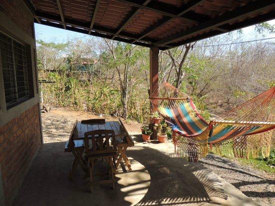 Rancho Cecilia Nicaragua: Front porch