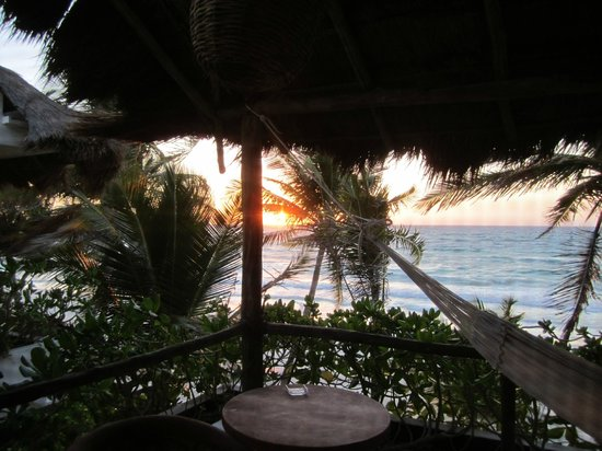 The Beach Tulum : View from Second Floor Balcony