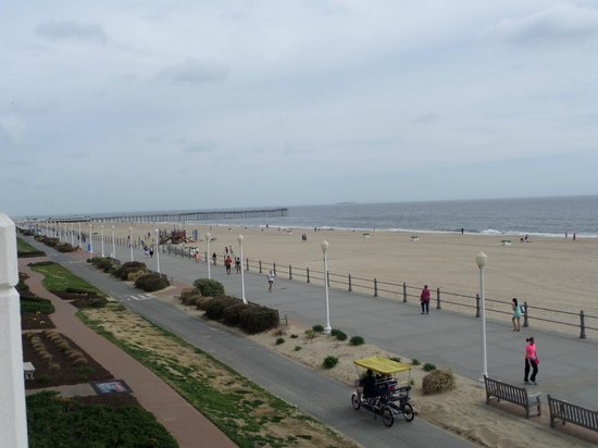 SpringHill Suites Virginia Beach Oceanfront : View from room.