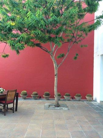 Casareyna Hotel: Casareyna patio
