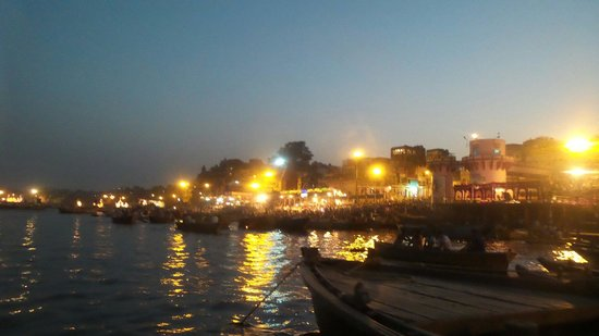 Rahul Guest House: View from Boat
