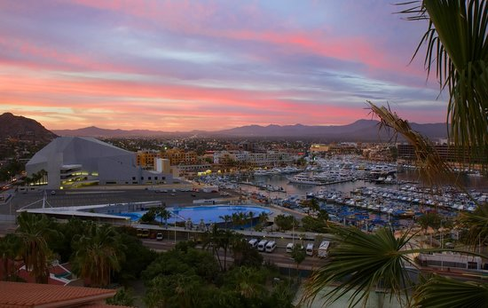 Sunset view from don diego restaurant picture of sandos finisterra los cabos cabo san lucas - Cabo finisterra ...