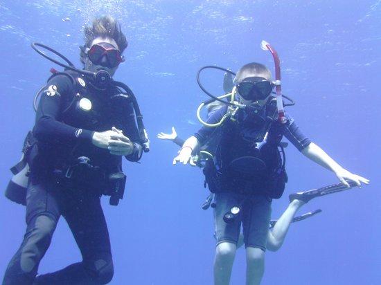 West Bay Divers: Loving it