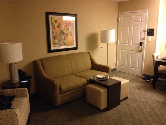 Homewood Suites Alexandria : Sitting area