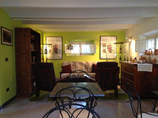 B&B Il Giardino del Pettirosso : Il soggiorno