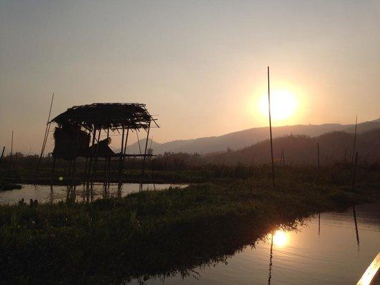 Inle Lake: Sunset