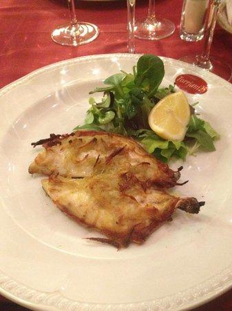 RISTORANTE TORRIANI 25: filetto di orata in crosta di patate