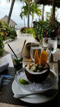 Cheeca Lodge & Spa : Fish Ceviche