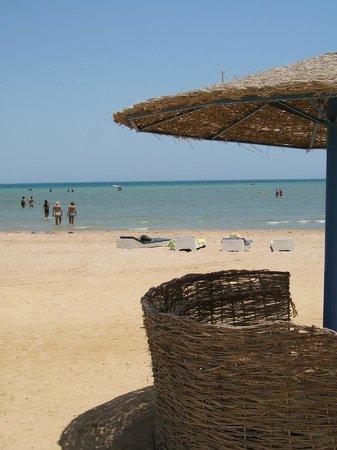 Three Corners Rihana Resort : plage de l hotel a 5min en navette