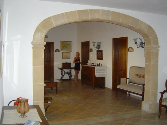 Posada de Lluc: The first floor landing