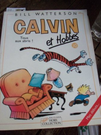 Talk Story Bookstore : Calvin et Hobbs in French