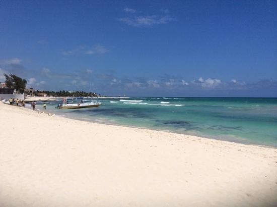 IBEROSTAR Paraiso Del Mar : beutiful beach