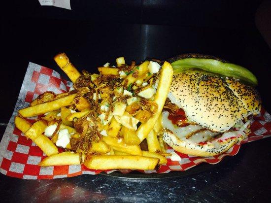 Relish Gourmet Burgers: Big Texas With Poutine XO