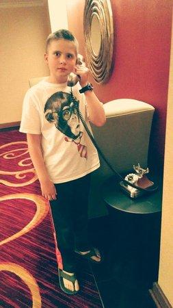 Renaissance Charlotte SouthPark Hotel: Cute phones
