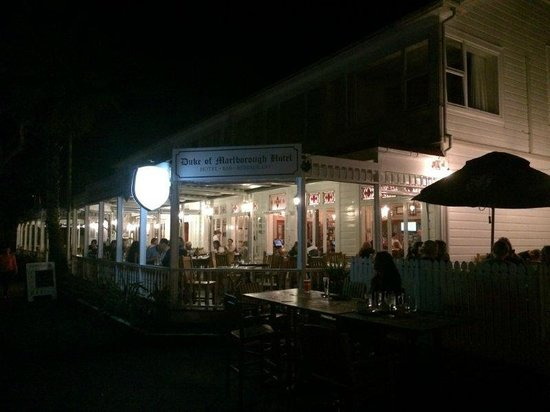 Duke of Marlborough: The bar/restaurant