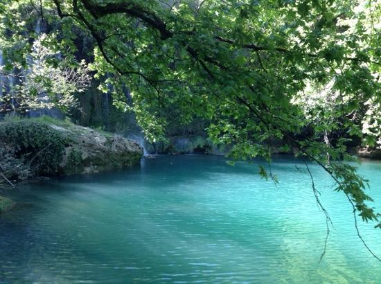 Limak Arcadia Golf & Sport Resort: My mini ipad photo of the water at Kusunlu