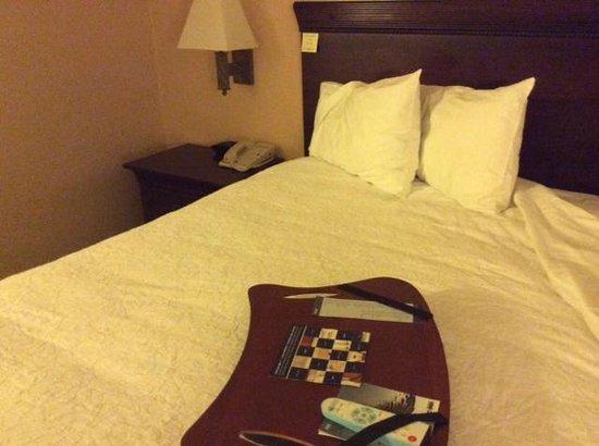 Hampton Inn Buffalo-Williamsville : Bed