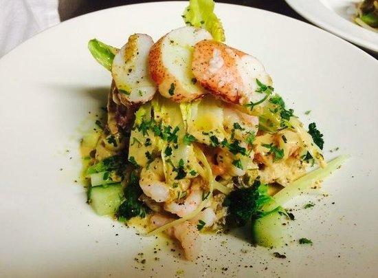 Rowley's: Prawn, crab, lobster & avocado salad