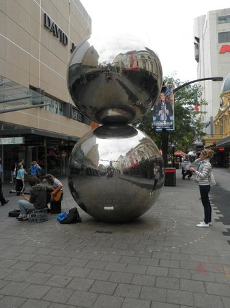 Rundle Mall: The Silver Balls