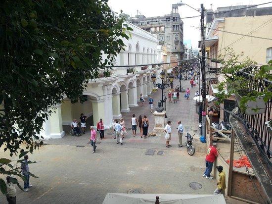 Hotel Conde de Penalba : Vista desde el Balcon