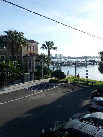 Coral Resort Condominiums: veiw looking east from condo window