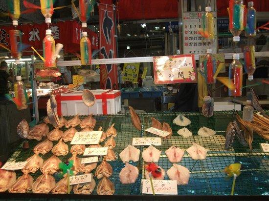 Shimonoseki Fish Market: 市場
