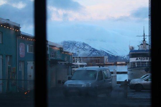 Icelandic Fish & Chips : dinner view