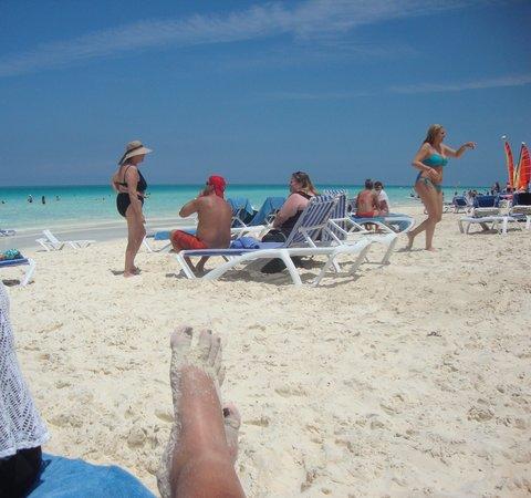 Hotel Playa Cayo Santa Maria : Beautiful beach