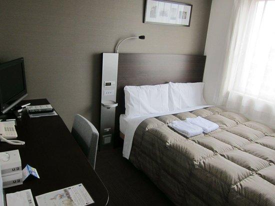 Comfort Hotel NARA: Double bed