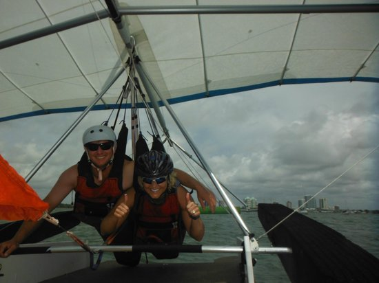 Hang Glide Miami: ready to go up and up away!