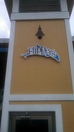 Flippers on the Bay: Sign