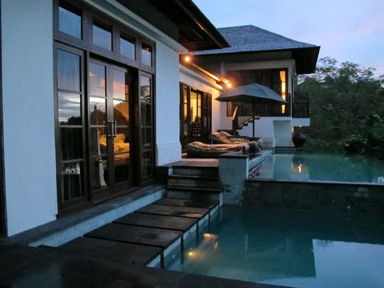 The Damai: looking back at the villa