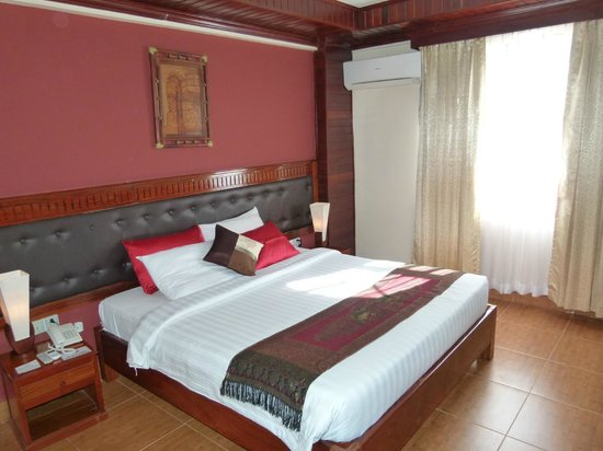 Angkor Pearl Hotel: Room was very big and comfortable