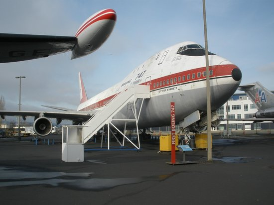 The Museum of Flight: 1st Boeing 747 'City of Everett'