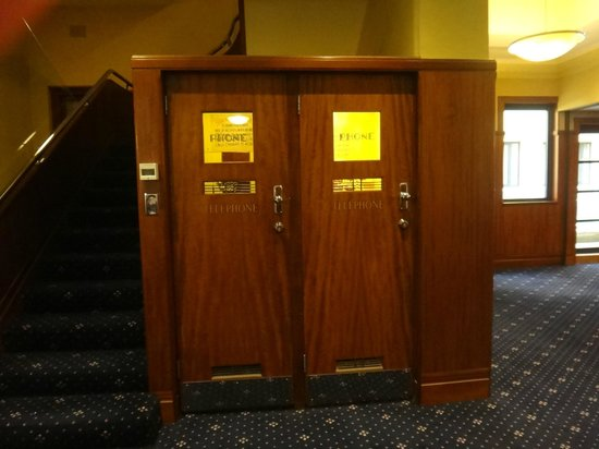 The Great Southern Hotel: Heritage Interior Hotel Telephone Boxes